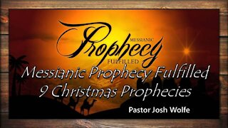 Messianic Prophecies Fulfilled Christmas Prophecies