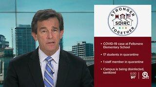 Fellsmere Elementary School student tests positive for coronavirus