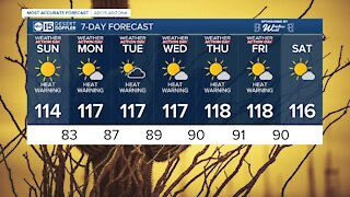 FORECAST: Dangerous heat wave is here