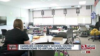 Hamburg Community School District transitions to virtual classrooms