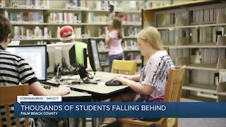 Nearly 22,000 students struggling with remote learning in Palm Beach County
