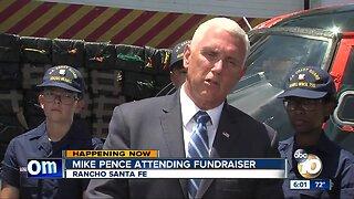 Vice President Mike Pence attending fundraiser