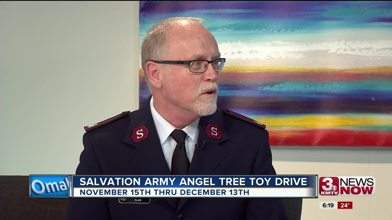 LIVE INTERVIEW: Salvation Army Tree Toy Drive