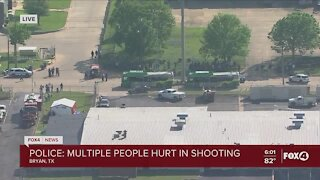 Mass shooting at business in Bryan Texas