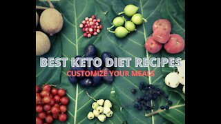 BEST KETO DIET RECIPES CUSTOMIZE YOUR MEALS