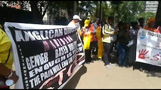 SOUTH AFRICA - Pretoria - Anglican Women's Fellowship protest against gender based violence (Video) (k3o)