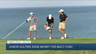 Local junior golfers raise nearly $40K for MACC Fund, other orgs