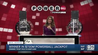 Powerball winner to receive over $700 million