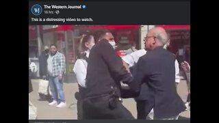 Street Pastor Arrested After Sermon