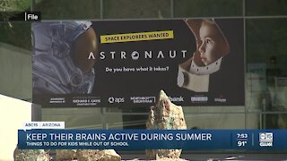 How to keep your kids' brains active during the summer