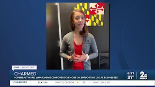 """Charmed in Baltimore says """"We're Open Baltimore!"""""""