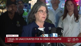 Officials in Surfside hold news conference