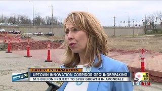Uptown Innovation Corridor breaks ground