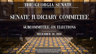 Cathy Latham Presentation at Georgia Hearing on Election Issues