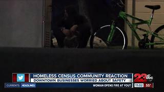 Homeless census community reaction