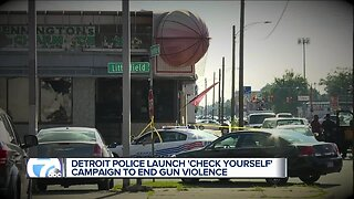 Detroit Police to debut campaign aimed at ending gun violence