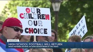 High school football will return, MHSAA reverses decision