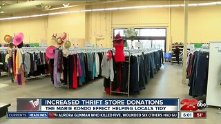 A new tidying method increasing thrift store donations