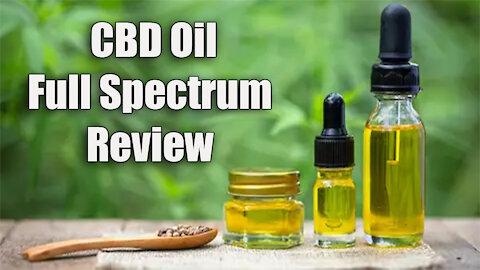 CBD Oil Full Spectrum Review | NuLeaf 300mg Potency | My Experience
