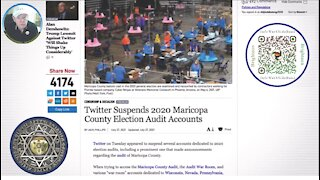 Twitter Suspends 2020 Maricopa County Election Audit Accounts