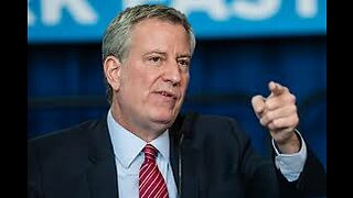 NYC Is In Deep Trouble, But The Mayor Has A Special Message For You...