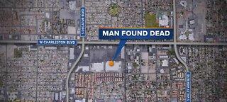 Man found dead behind Las Vegas Walmart.