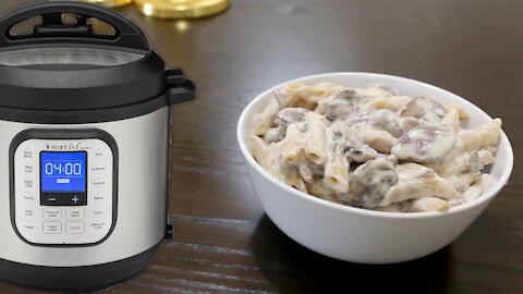 Instant Pot Wednesday: Mushroom Stroganoff (Vegetarian)