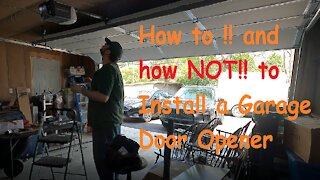 How To: Garage door opener Replacement