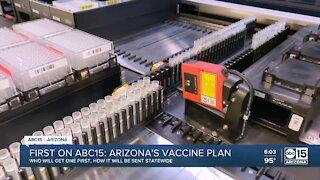 Arizona's COVID-19 vaccine plan