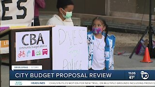 San Diego city leaders to review budget proposal, SDPD budget increase