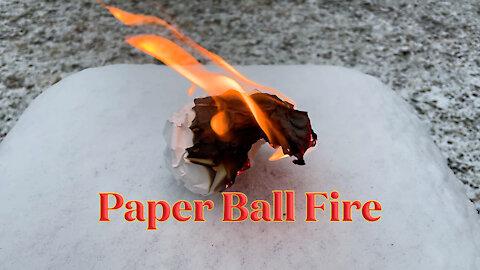 Paper Ball Fire