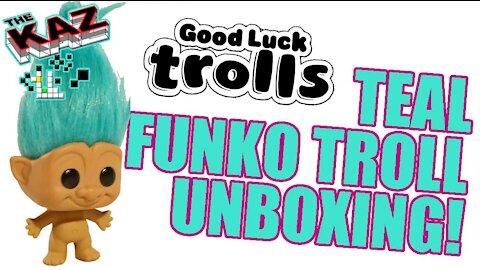 Teal Troll Funko Pop Unboxing