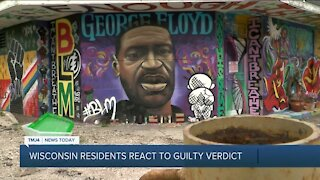 Wisconsin residents react to Chauvin guilty verdict