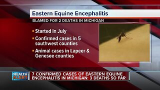 7 confirmed cases of deadly mosquito-borne disease confirmed in Michigan