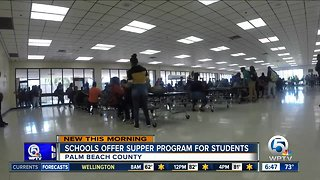 71 Palm Beach County schools serving free dinner