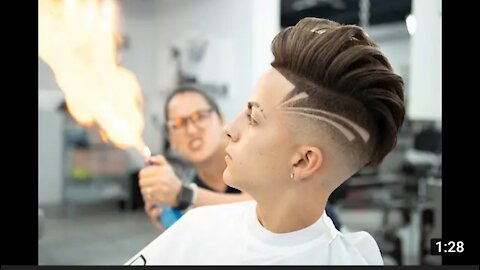This cut is fuego😳