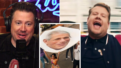 James Corden's DELUSIONAL Lockdown 'Song': Dave & Crew REACT!   Louder With Crowder