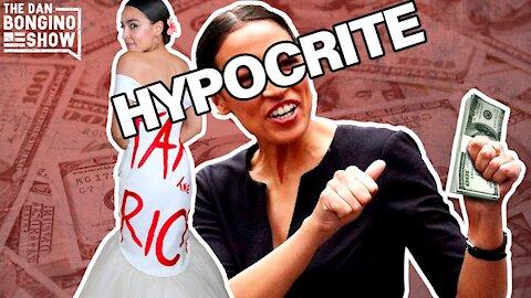 AOC Sets New Hypocrisy Record