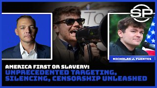 Nick Fuentes and Stew Peters: America First or Eternal SLAVERY