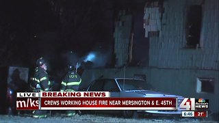 No injuries in early-morning house fire