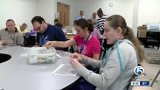 Organization teaches vocational skills to people with disabilities