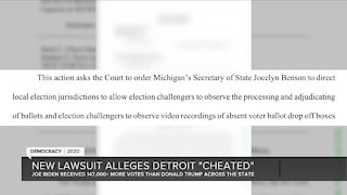 """New lawsuit alleges Detroit """"cheated"""""""