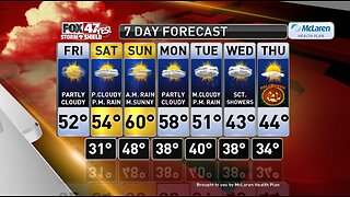 Claire's Forecast 10-25