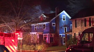 3 residents displaced after fire heavily damages Cleveland Heights home