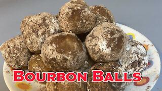 No Bake Bourbon Balls Recipe