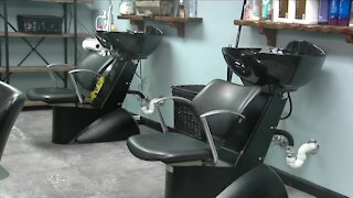 Salons and barber shops outside Orange Zone see increase in business