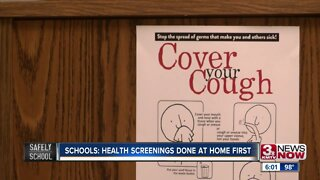 Schools: Health screenings done at home first