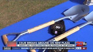 CSUB breaks ground on Harvey Hall Plaza