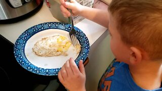 Easy Egg Science Project 3