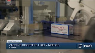 Fully-vaccinated people may still need boosters